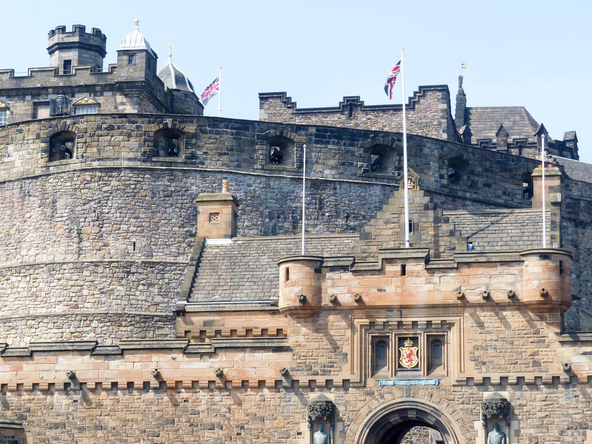 02 le château d'Edimbourg