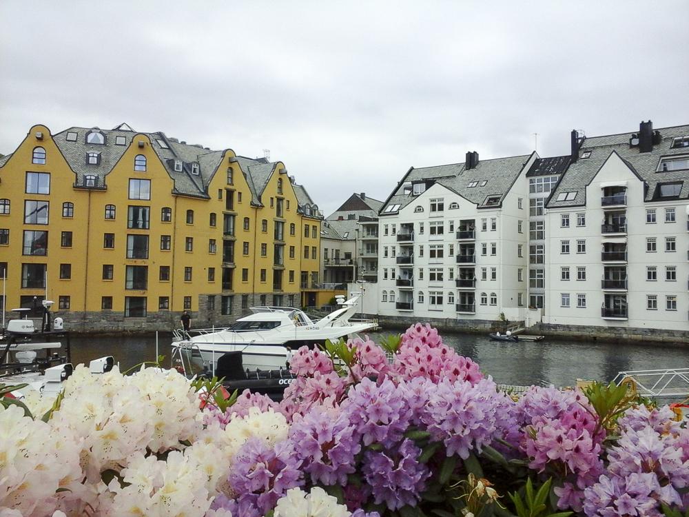 10 la ville d'Alesund