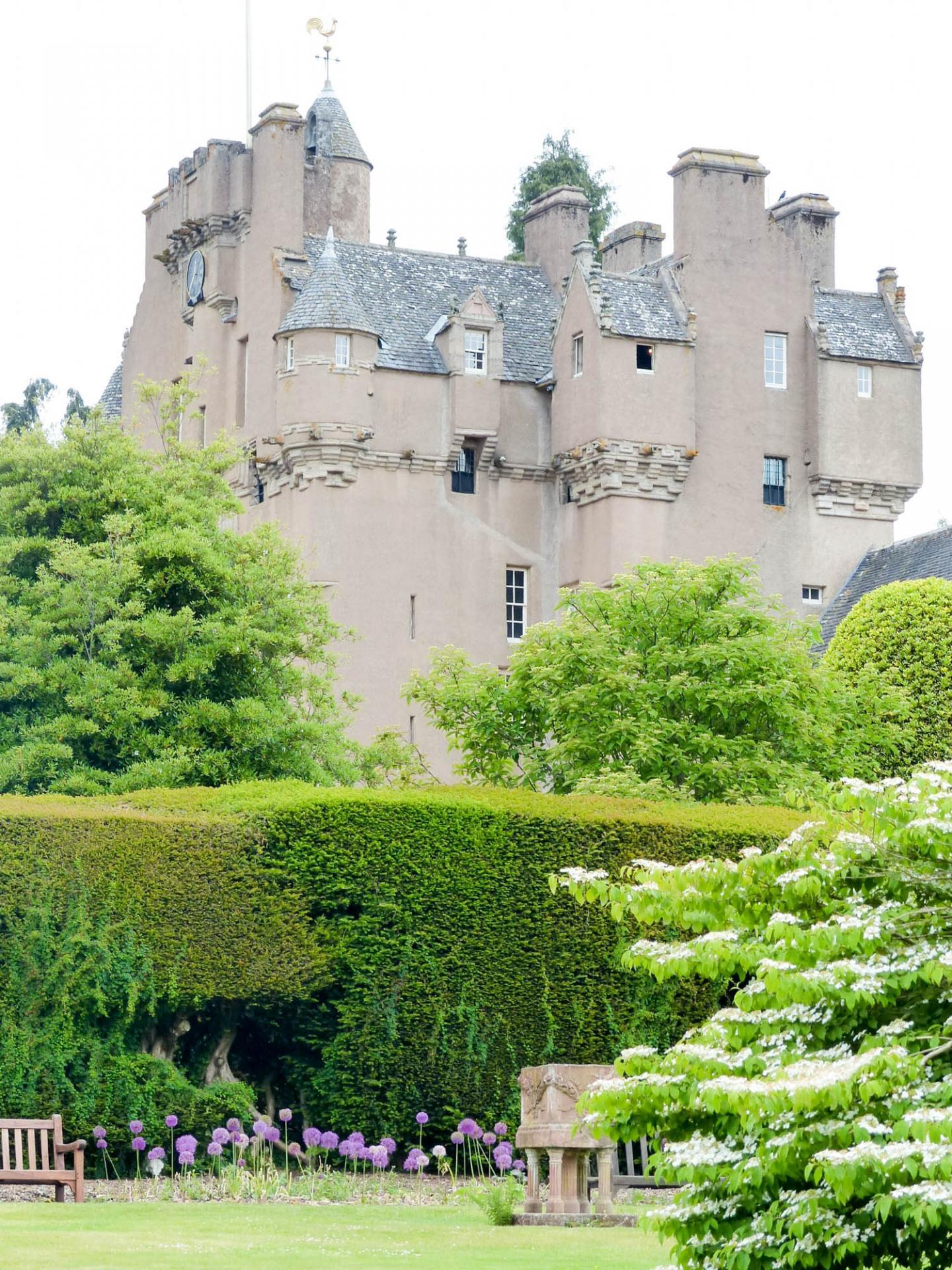 12 Le château de Crathes