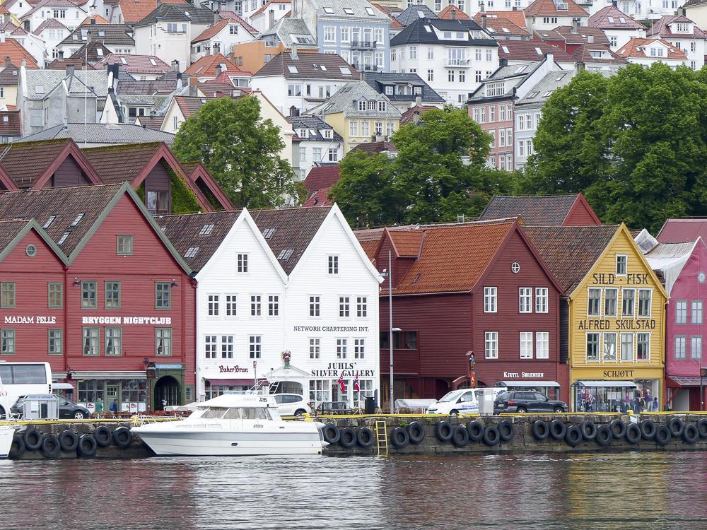 13 la ville de Bergen (le port)