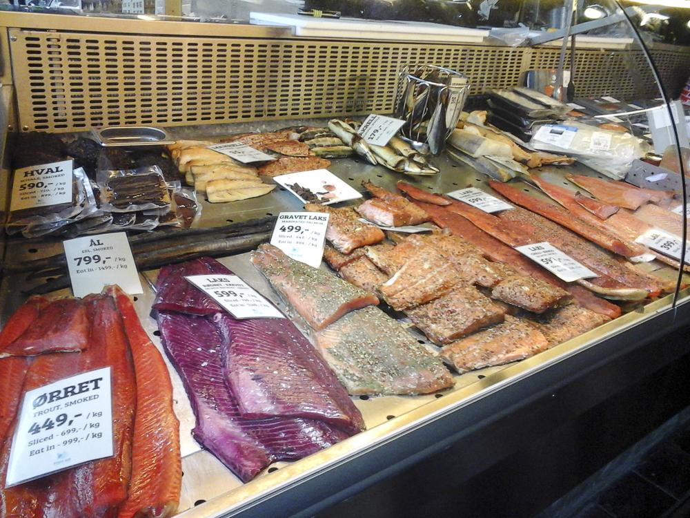 14 Bergen  le marché aux poissons