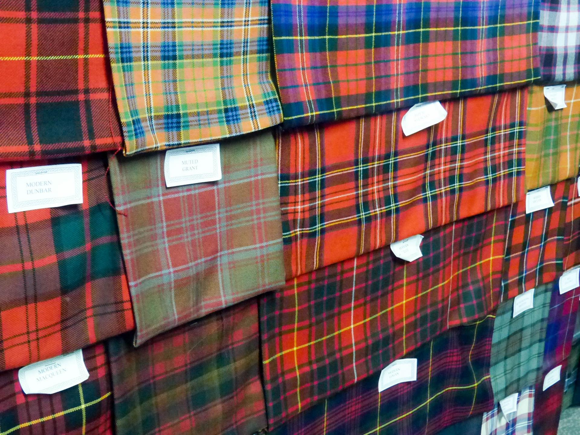 20 Fabrication de kilts à Inverness