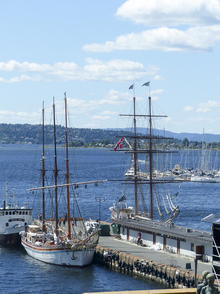 20 Oslo, vue depuis l'hôtel de ville