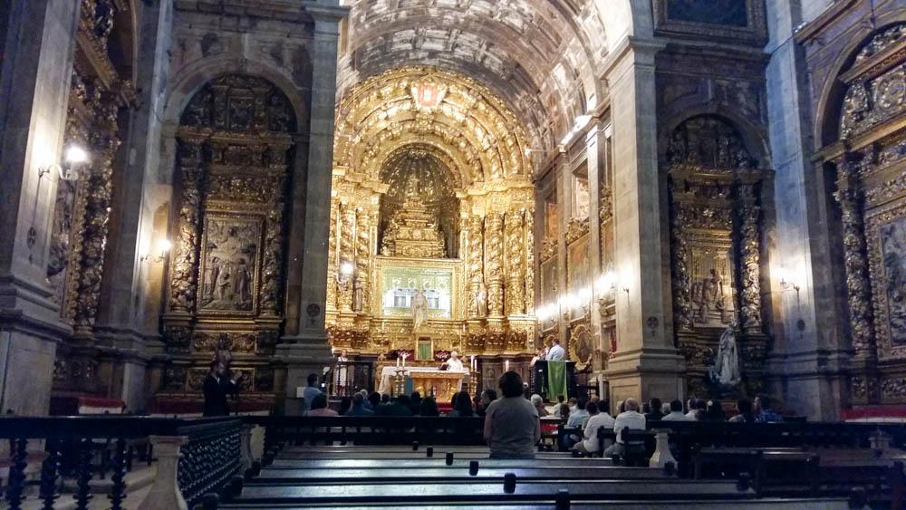23 COIMBRA église baroque du couvent de Santa Clara