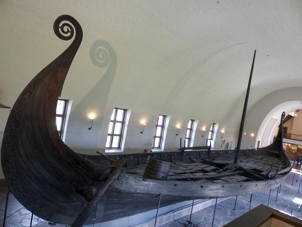 24 Oslo Le musée des bateaux Vikings