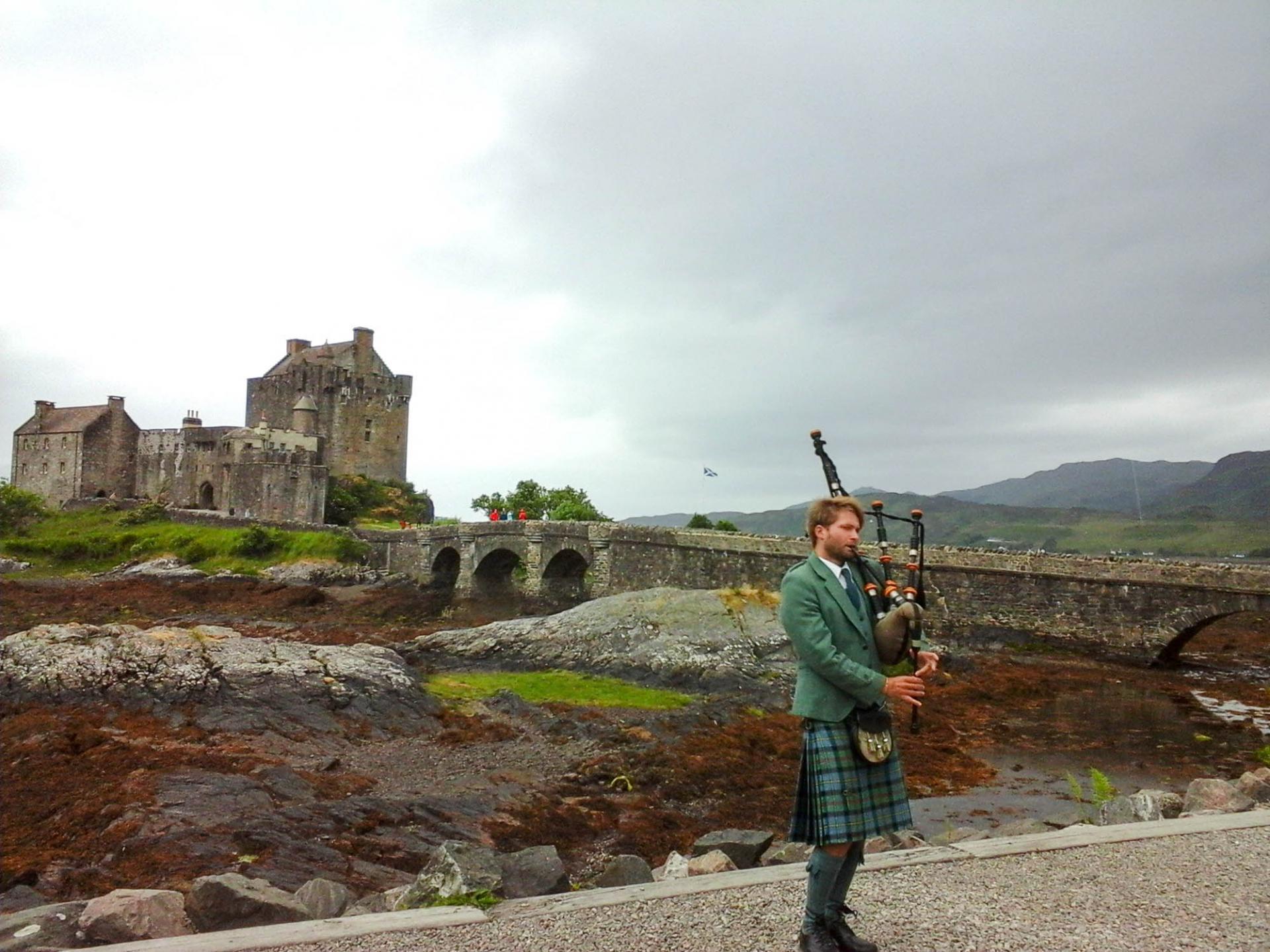 26 Le château d'Eilean Donan
