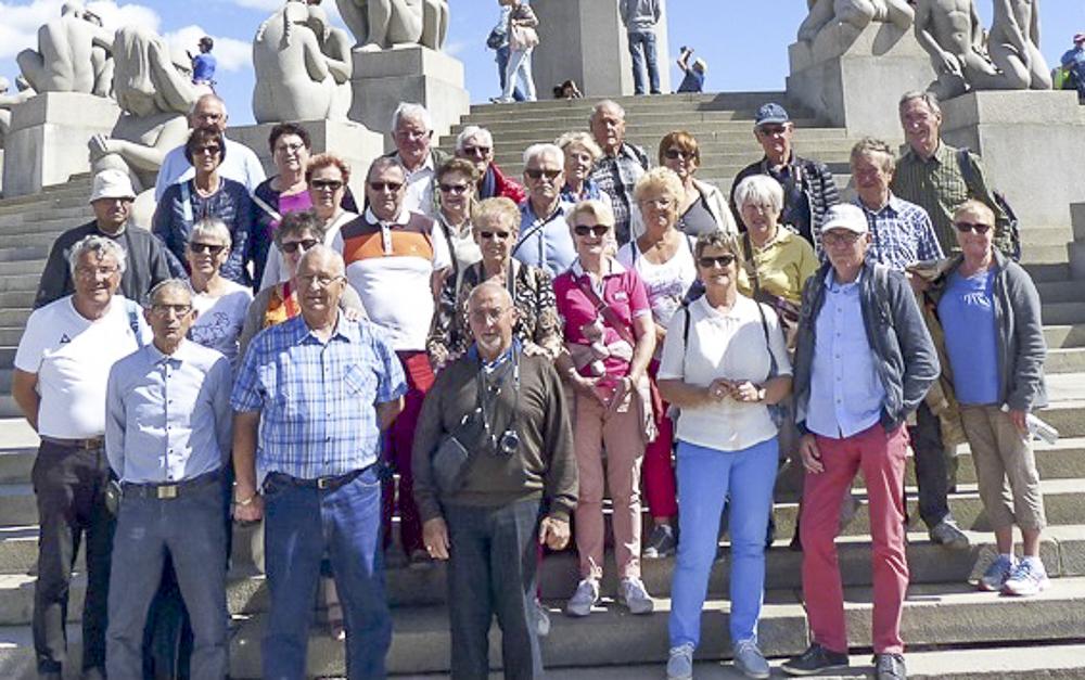 27 Oslo  Le groupe resserré