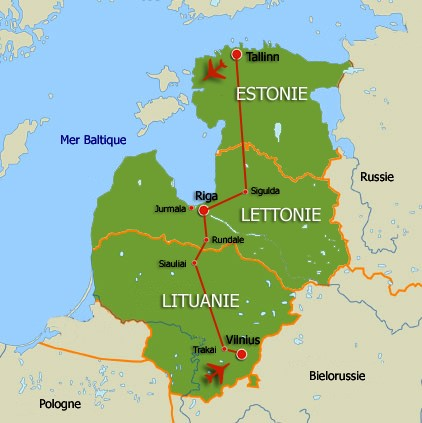 Pays baltes circuit